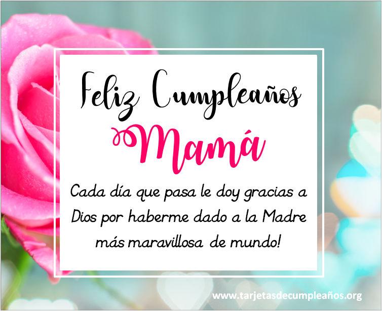 Tarjetas de Cumpleaños para una madre