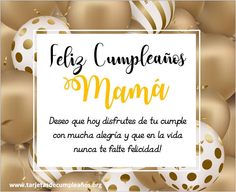 tarjetas de cumpleaños para mama